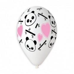 Panda & Hearts