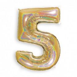 5 Glitter Gold