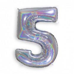 5 Glitter Silver