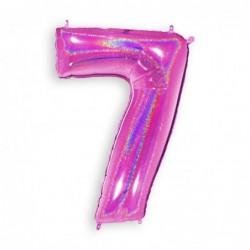 7 Glitter Fuxia