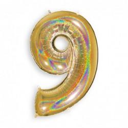 9 Glitter Gold