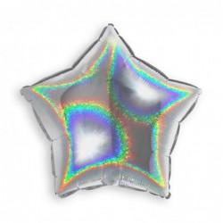 Star Glitter Silver