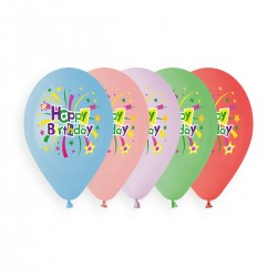 colourful happy birthday